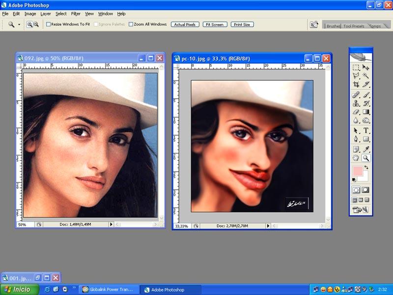 сделать фото фотошопе онлайн бесплатно без регистрации