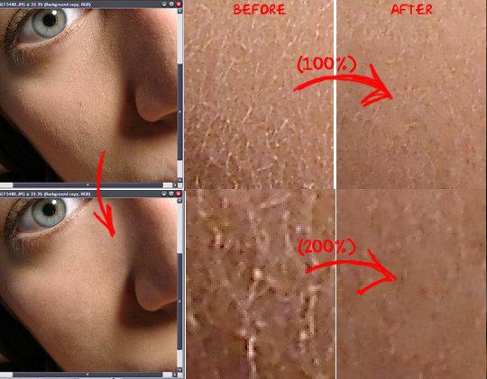 Как сделать матовую кожу